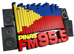 Pinas FM 3D Logo with Alpha2