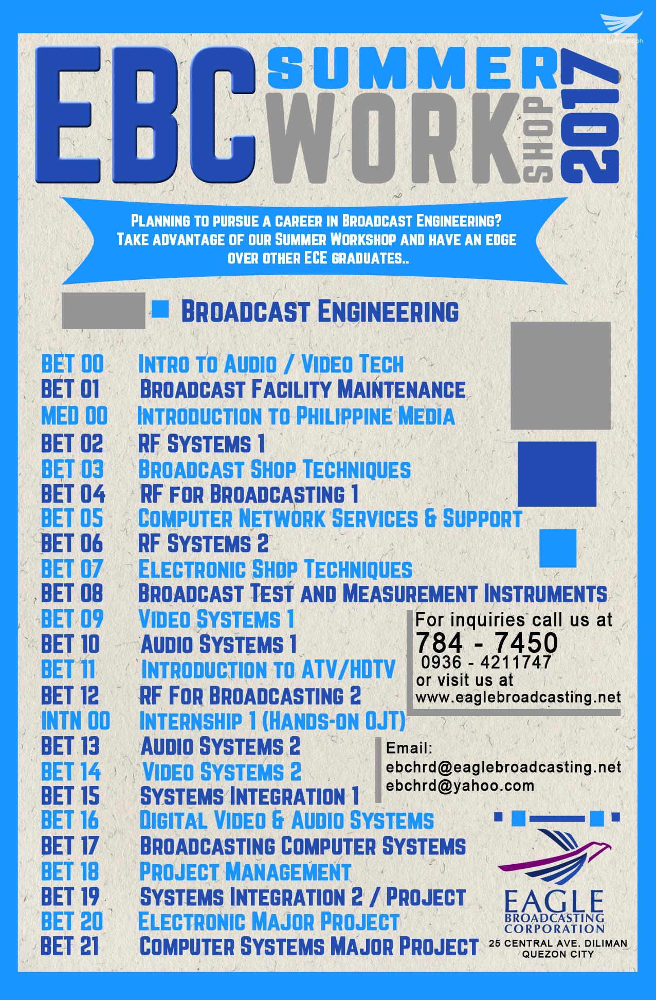 EBCWorkshop 2017 engineering poster