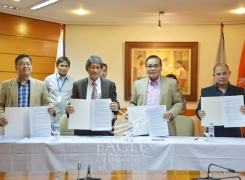 Ready for 2015 ASEAN Integration – Eagle Broadcasting Corporation signs partnership with Development Academy of the Philippines