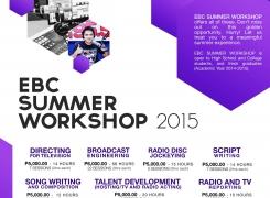 EBC Summer Workshop 2015