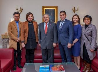 EBC London Bureau visits new Philippine Ambassador in London